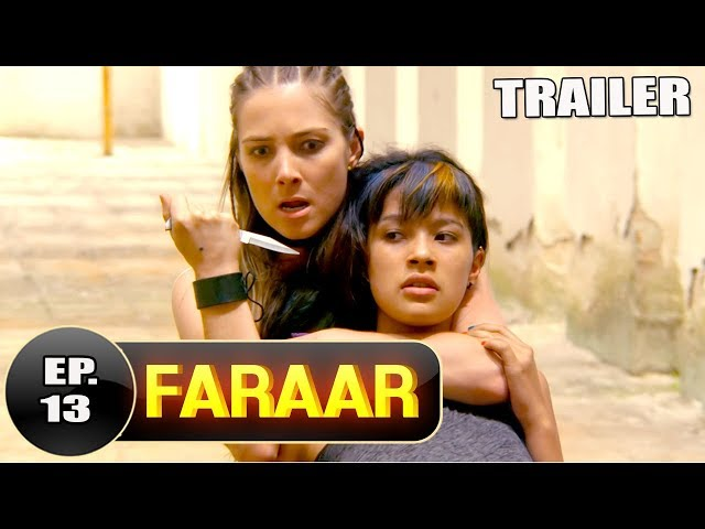 Faraar Episode 13 Teaser | Full Episode Tomorrow  5 PM | Hindi Dubbed Full