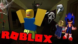 LOCKED IN the HORROR House! (Roblox)