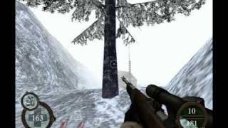 Return to Castle Wolfenstein (PS2) - 6-1 (Ice Station Norway) part.1