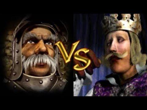 Marschall vs Philipp | Stronghold Crusader KI Kämpfe