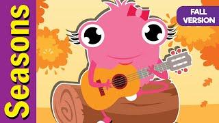 Seasons Song (Fall Version) | Seasons Song for ESL | Fun Kids English