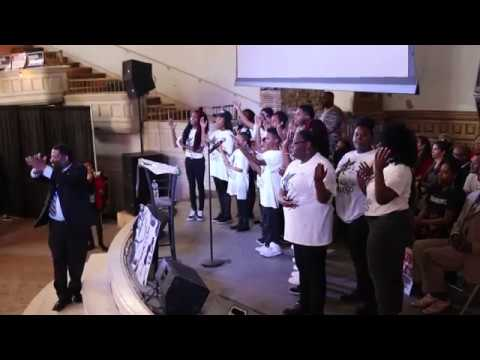 The Boys and Girls Choir of Memphis MLK50 performance at Clayborn Temple 2/24/2018