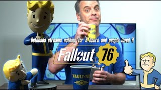 The Most Savage Man On Earth Rants: Bethesda streams nothing for 8 hours & people loved it