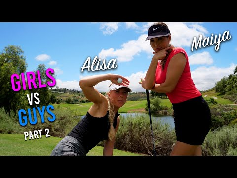 ANOTHER LUCKY BOUNCE FOR THE WIN!/GUYS VS GIRLS/BACK 9 HOLES
