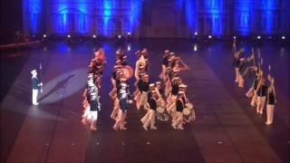 Royal Swedish Navy Cadet Band / Int. Taptoe België 2015