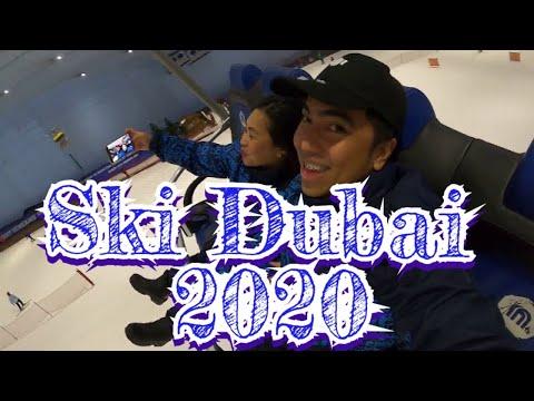 SKI DUBAI – Mall of Emirates, Indoor Ski 2020 –  (tagalog)