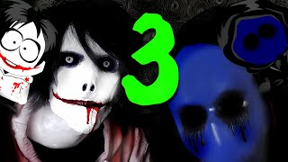 One of BaptismOnFire's most viewed videos: ASK JEFF THE KILLER AND EYELESS JACK (Episode 3)
