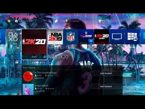 How To Get The Dwyane Wade Theme For FREE (PS4 ONLY)