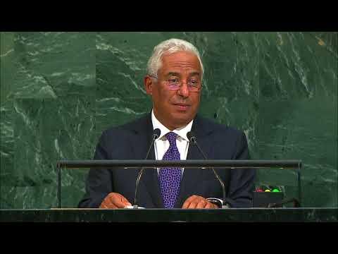 Primeiro-Ministro António Costa discursa perante a 72.ª Assembleia Geral das Nações Unidas