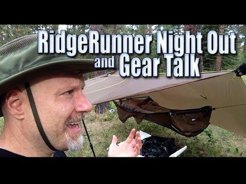 The RidgeRunner Hammock Night Out And Gear Talk
