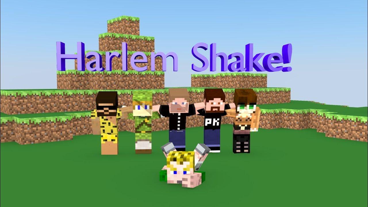 Harlem Shake Minecraft Mit Gronkh SarazarLP Und HoneyballLP - Minecraft hauser gronkh