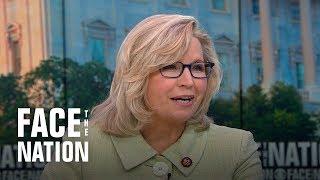 "Liz Cheney says Trump's attack on congresswomen ""isn't about race"""