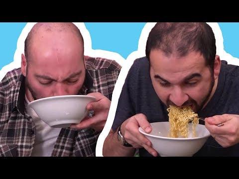 En Hızlı Noodle Yeme Kapışması