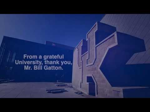 "Mr.  Bill Gatton, ""The Bridge Builder"""