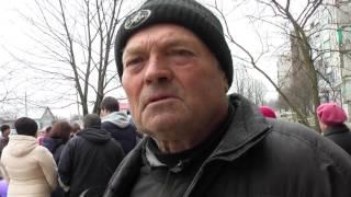 Первомайцы митингуют из-за цен на газ