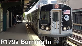 ⁴ᴷ R179s 3074-3077 + 3126-3129 Burn Testing on the (J) Line