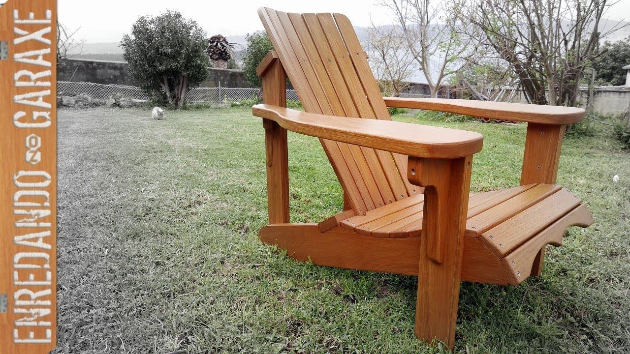 Cómo montar la silla Adirondack paso a paso 😍 - YouTube