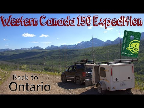 Back to Ontario - Western Canada 150 Expedition - [Part 8/8]