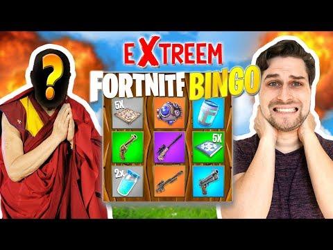 Meester van Bingo uitdagen!😱 - Extreme Fortnite Bingo met Vincent