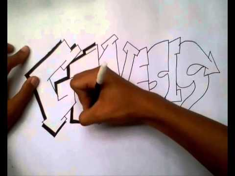 Tutorial Simple Grafiti By Reza Andriansyah