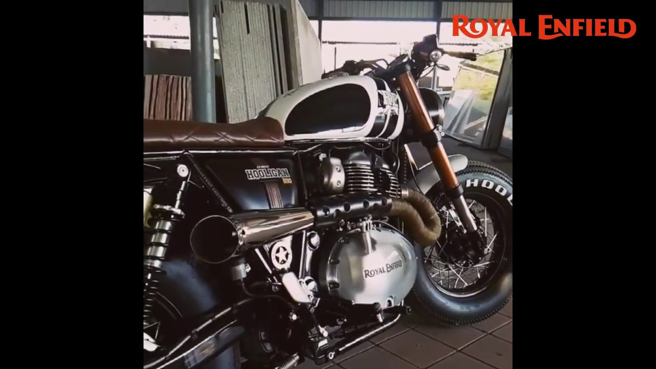Custom Royalenfield Interceptor 650 Exhaust Sound Hooligan Youtube