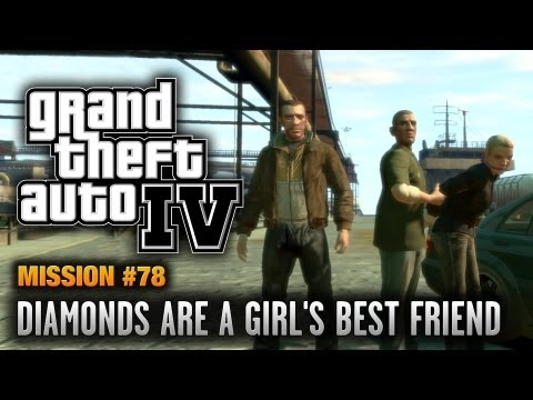 GTA 4 - Mission #78 - Diamonds are a Girl's Best Friend (1080p)