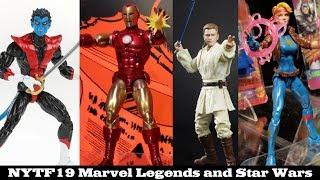 NYTF '19: Hasbro Marvel Legends and Star Wars Black Series Rundown