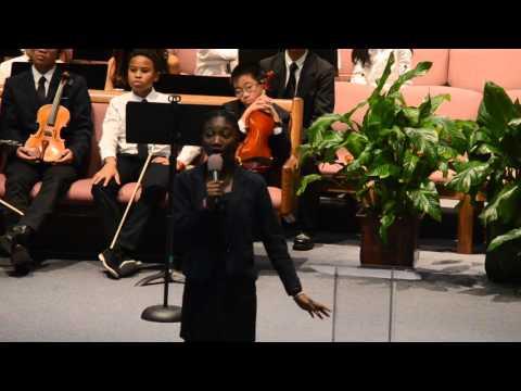 Shiloh SDA Church School soloist