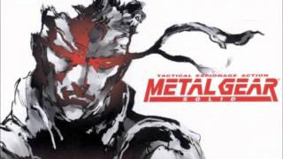 Metal Gear Solid 1 Soundtrack Track # 18 (End Title - The Be...