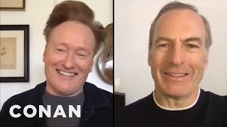 #ConanAtHome: Bob Odenkirk Full Interview - CONAN on TBS