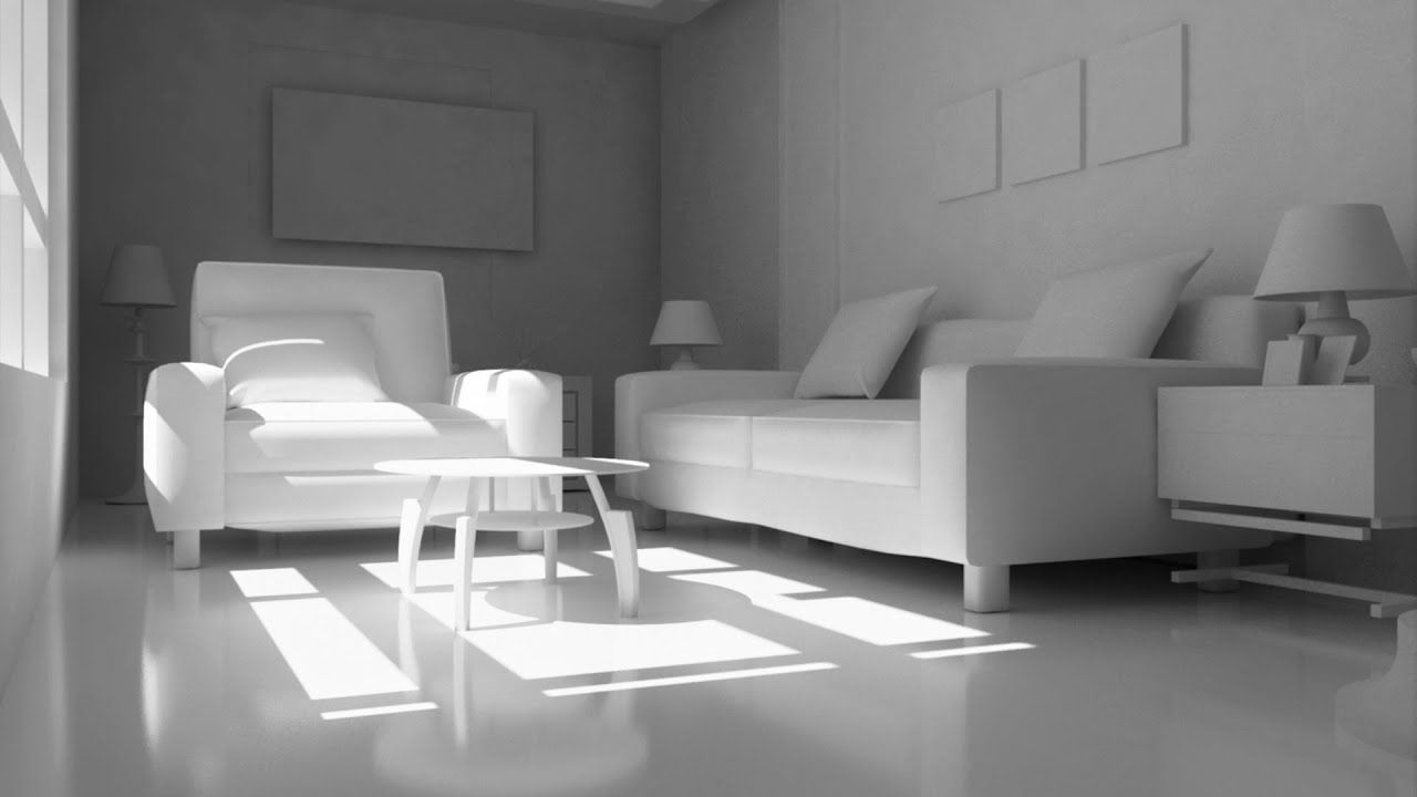 Vray simple daylight rendering 3ds max beginner tutorial Interior design for beginners