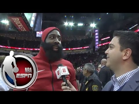 James Harden on return to Houston Rockets: