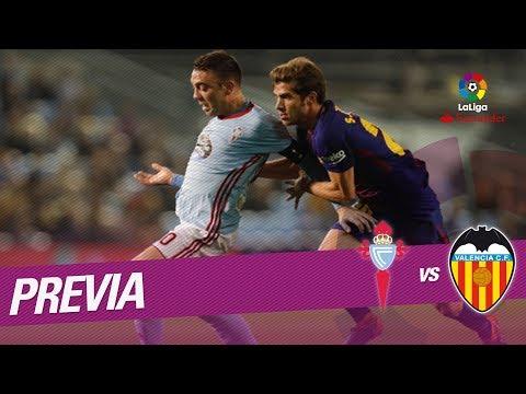 Previa RC Celta vs Valencia CF
