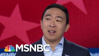 Andrew Yang: I'd Tell Vladimir Putin 'I'm Sorry I Beat Your Guy'   MSNBC
