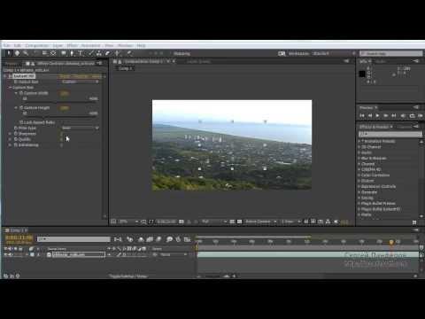 Как изменить высоту и ширину кадра в видео