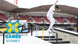 Nyjah Huston wins gold in Men's Skateboard Street  | X Games Sydney 2018