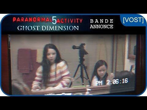 PARANORMAL ACTIVITY 5 GHOST DIMENSION - Bande-annonce [VOST]de YouTube · Durée :  2 minutes 20 secondes