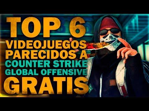 TOP 6 JUEGOS PARECIDOS A COUNTER STRIKE GO GRATIS | POCOS, MEDIOS REQUISITOS