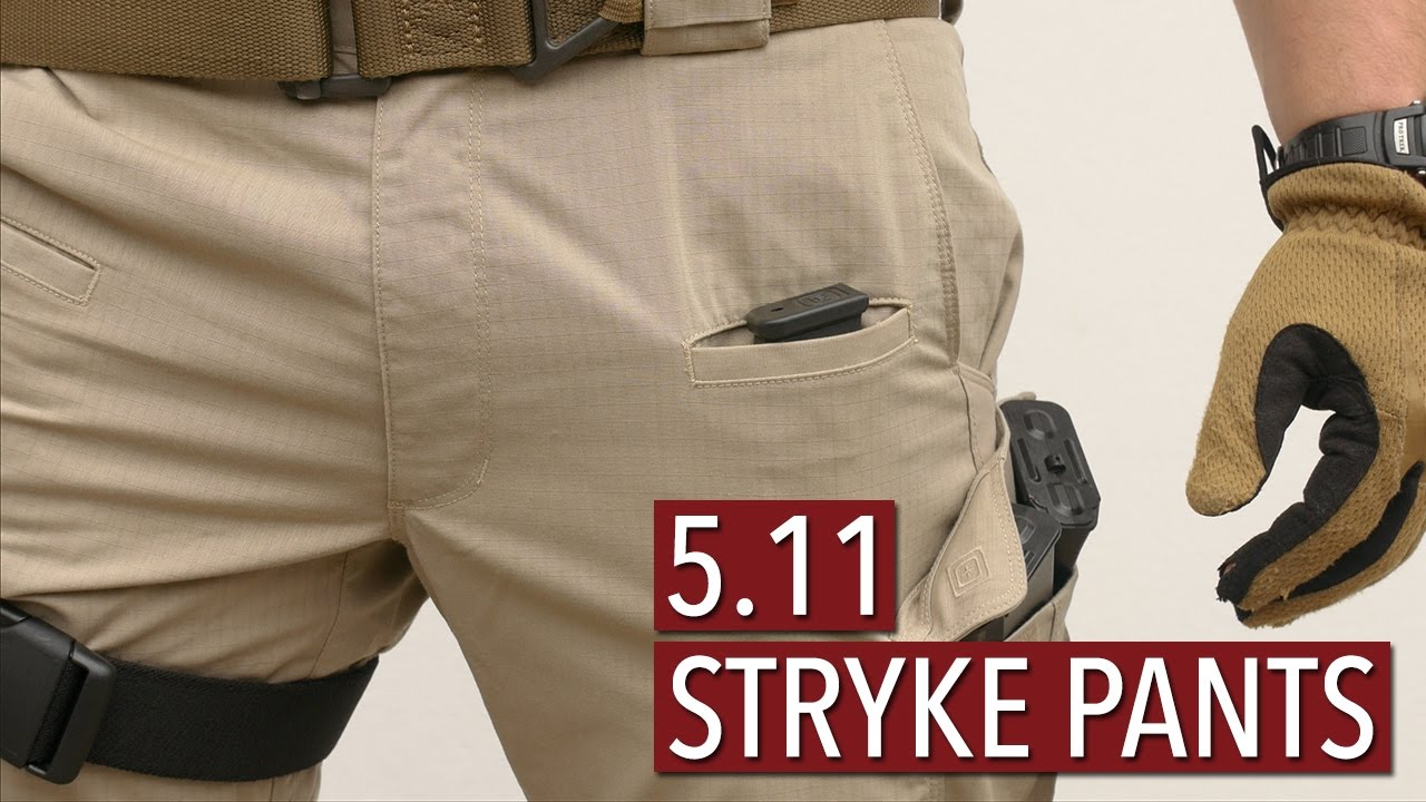 9cb4b904 5.11 Tactical Stryke Pants [Review] - YouTube