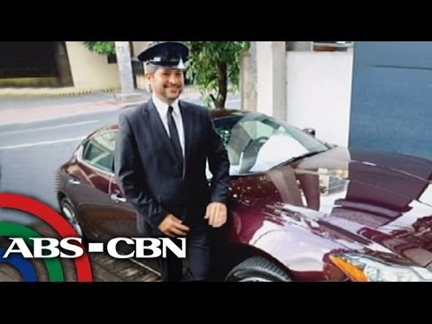 Hire a chauffeur and ride a Maserati Quattroporte