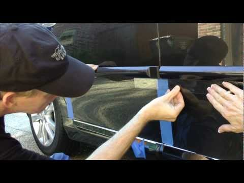 How To Install Side Molding On Lexus Es 350 Youtube