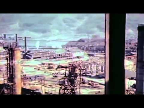 1946 USAF Aerial Footage :Japanese Oil Plants & Storage (full)