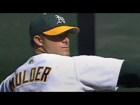 2002 ALDS Gm5: Mark Mulder fans nine in seven innings