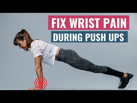 FIX Wrist Pain During PUSH UPS | 4 Easy Ways To Increase Your Wrist Strength & Flexibility