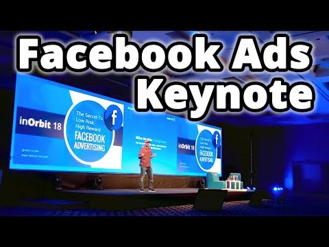 Facebook Advertising Keynote Speech. Five Dollar Facebook Ads System Revealed @ RedOrbit Conference