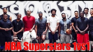 NBA Superstar 1vs1 Carmelo Anthony, Chris Paul, D wade  and more