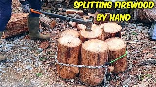 Why I Split Firewood by Hand!