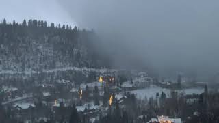 Snow Squall Obscures Colorado Town Within Seconds