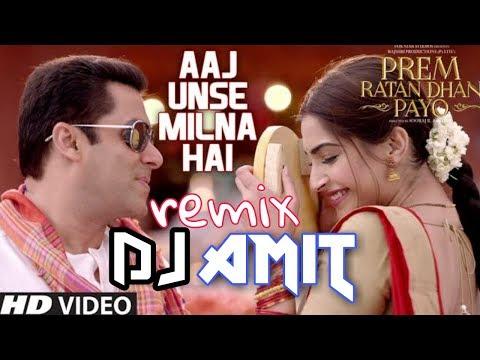 Fadu DJ Remix AAJ UNSE MILNA HAIN HAME (Dj Song) डीजे रीमिक्स ||DJ Amit Yadav||