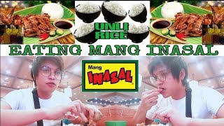 Eating Mang Inasal